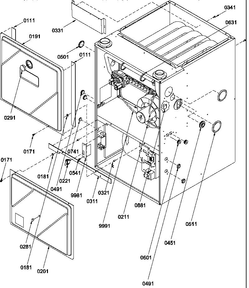 Amana model GUCA070AX30/P1227502F misc hvac genuine parts