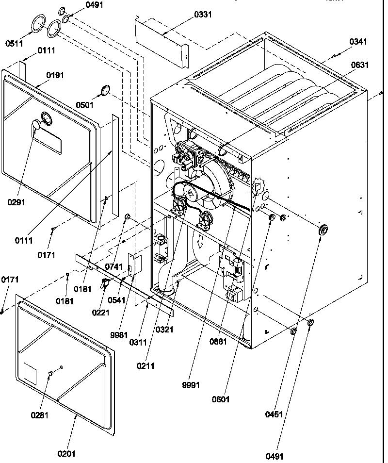 Amana model GUCA070AX40/P1219303F misc hvac genuine parts