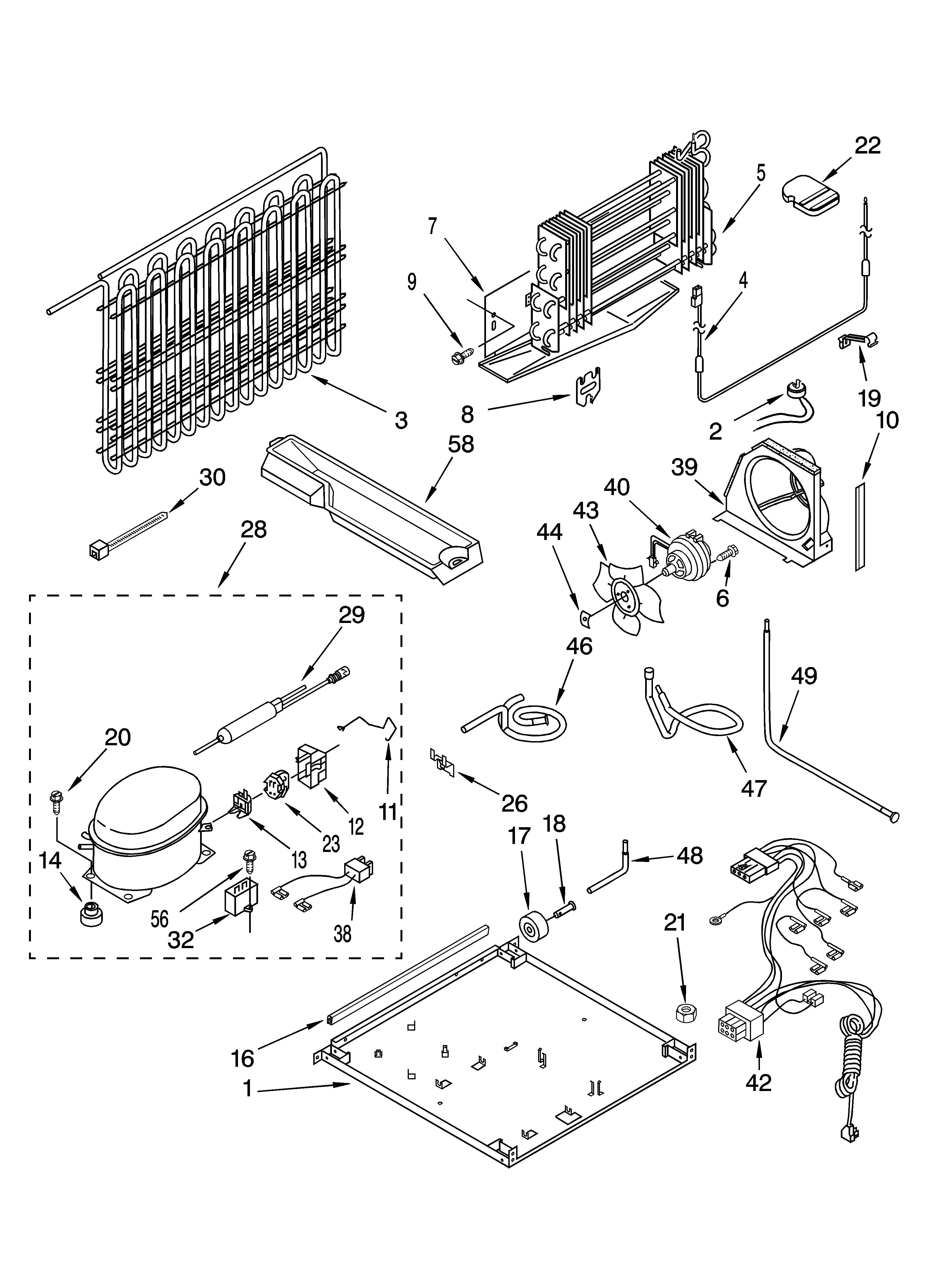 Kenmore model 10677292790 top-mount refrigerator genuine parts