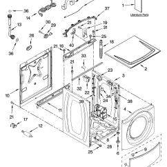 Kenmore He2 Plus Washer Parts Diagram Motor Wiring Diagrams Residential | Model 11046472500 Sears Partsdirect