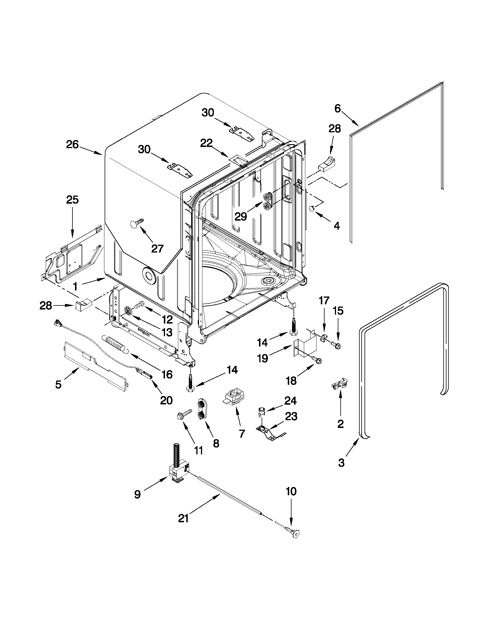 kenmore elite dishwasher wiring diagram vfd undercounter parts model