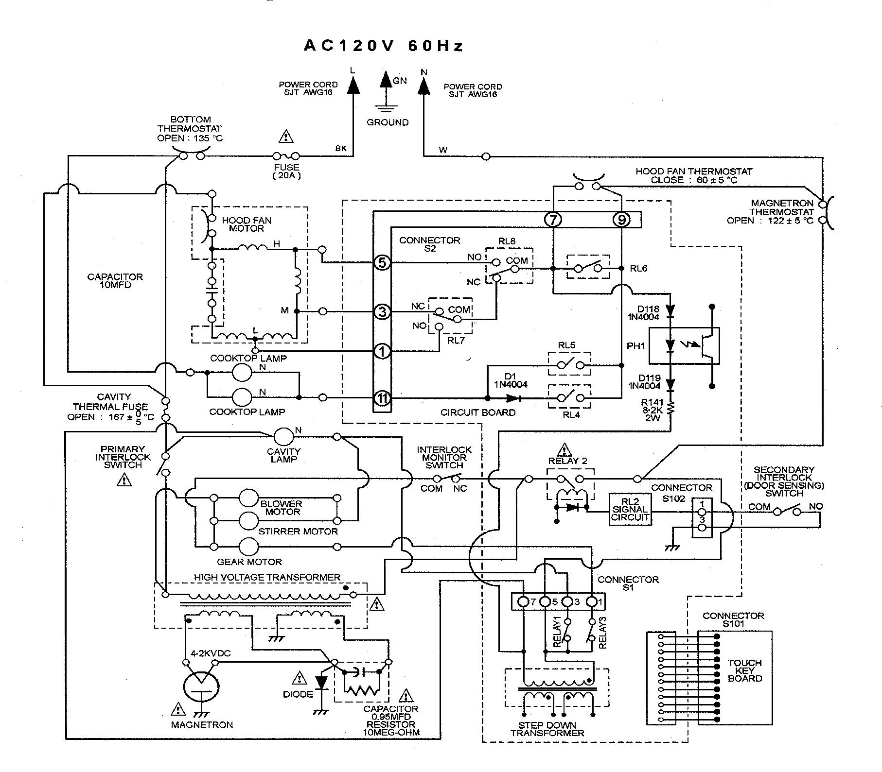 Maytag model CMV1100AAB microwave/hood combo genuine parts