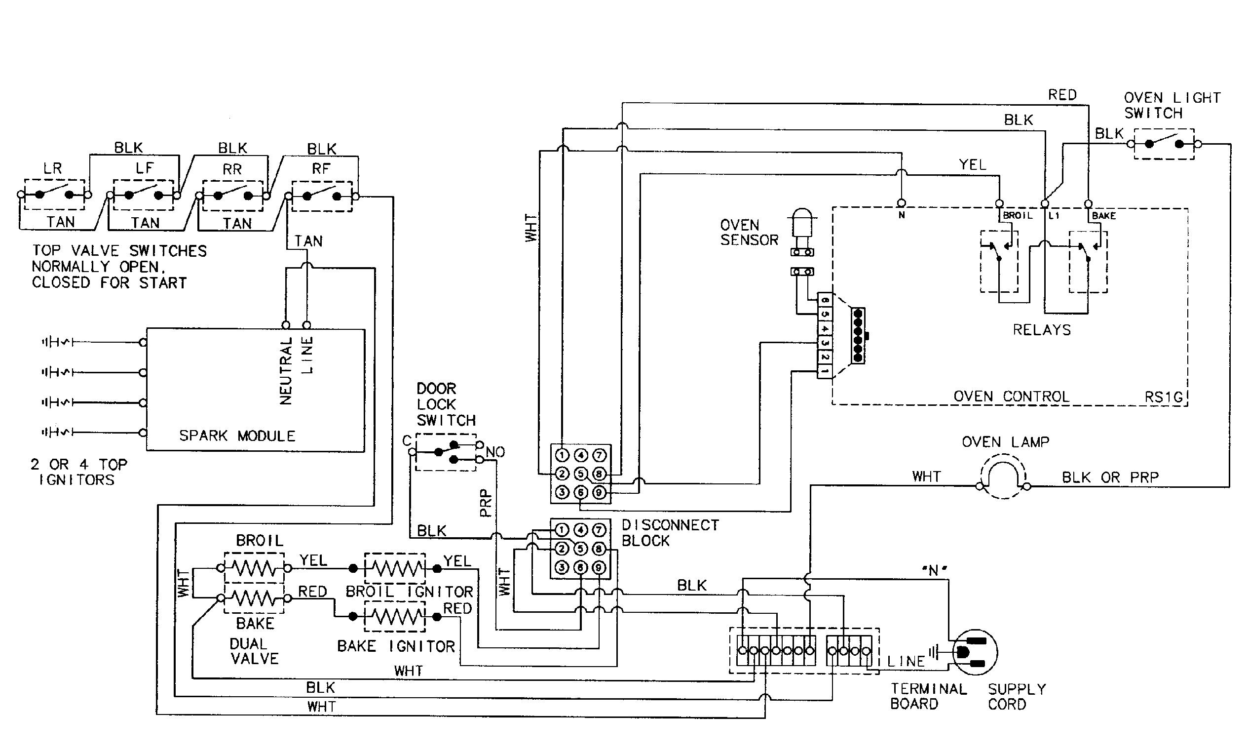Maytag model MGR5729ADW free standing, gas genuine parts