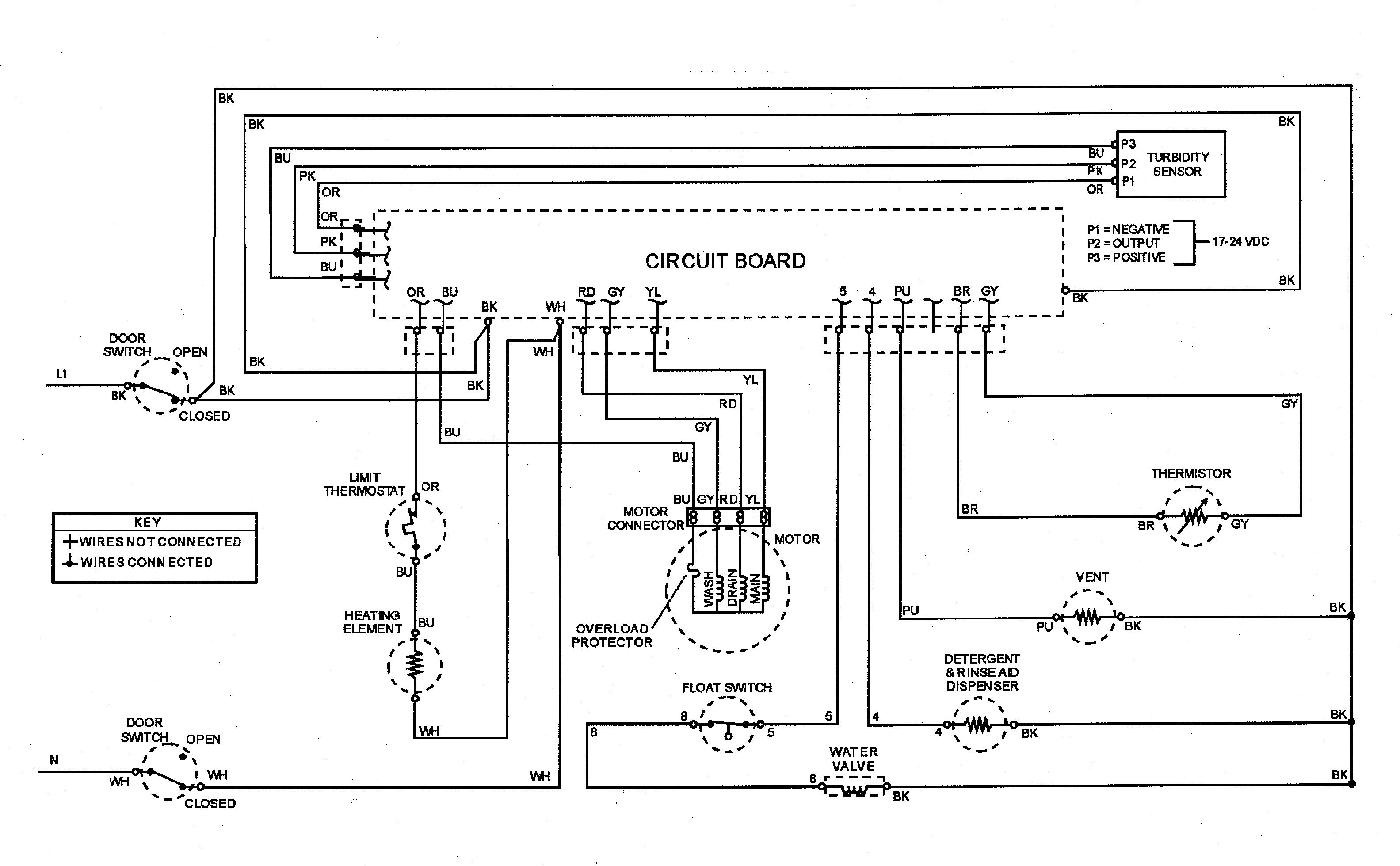 Maytag model MDB9150AWB dishwasher genuine parts