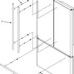 Jenn Air Refrigerator Parts Diagram Dc Cdi Ignition Wiring Model Jfc2087hrs Bottom Mount Genuine Handles