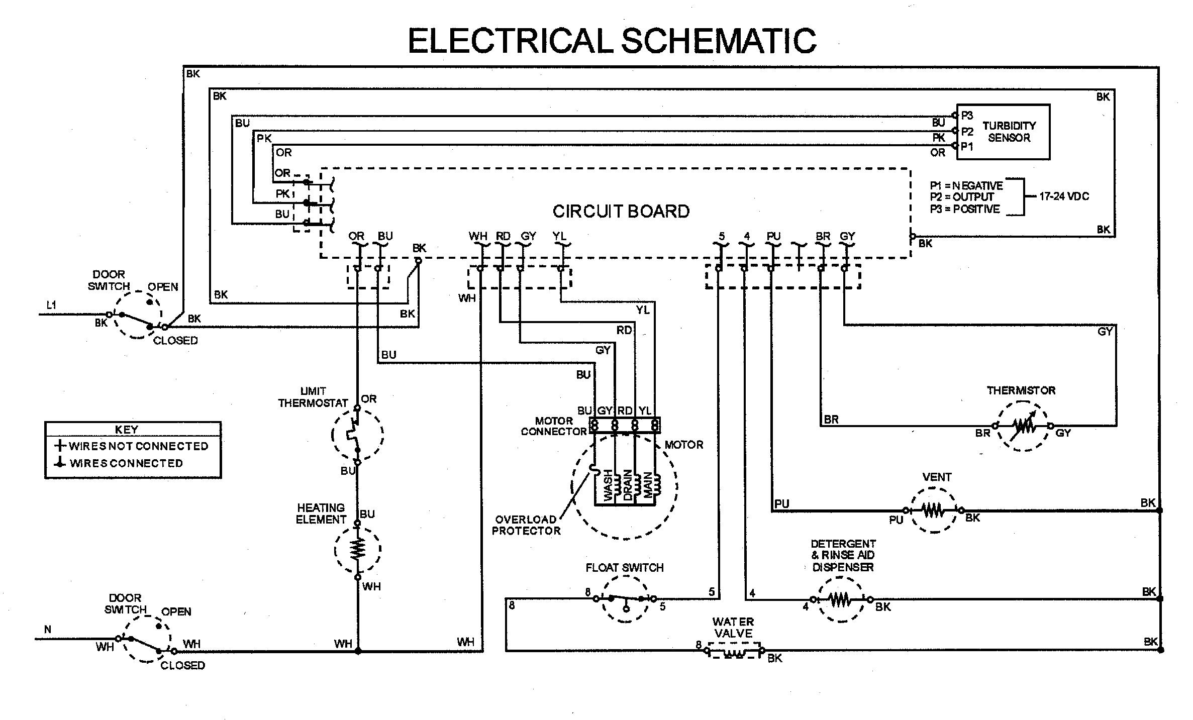 Maytag model MDB7130AWW dishwasher genuine parts