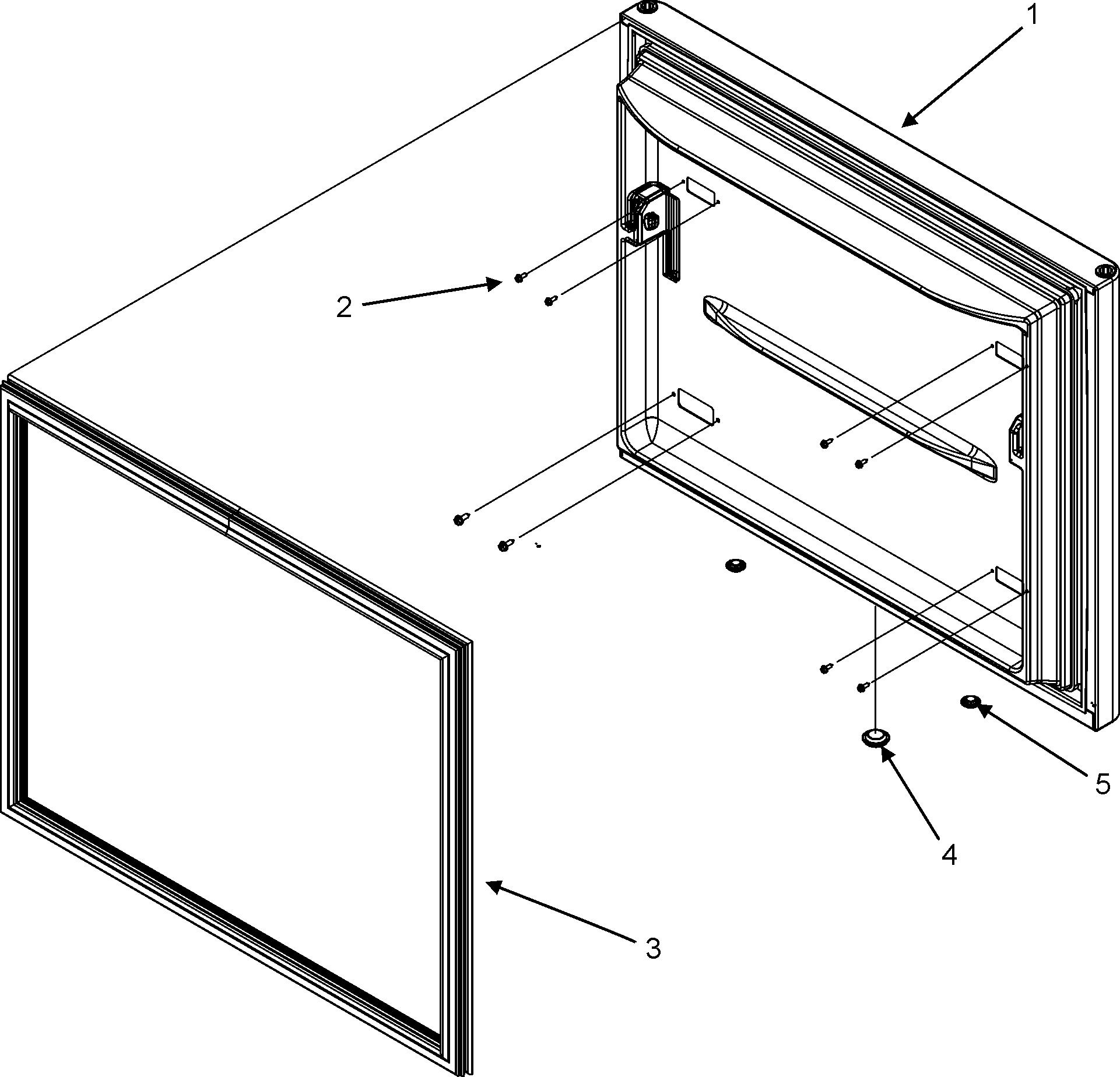 Jenn-Air model JFC2089HES bottom-mount refrigerator