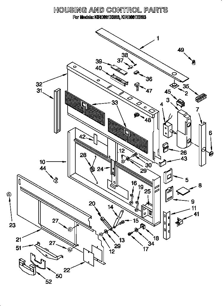 Kitchenaid model KIRD861XSS3 vent systems (downdraft