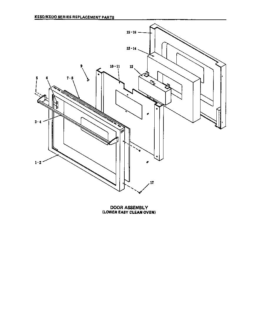 Kitchenaid model KEBI240SBL0 ranges, electric genuine parts