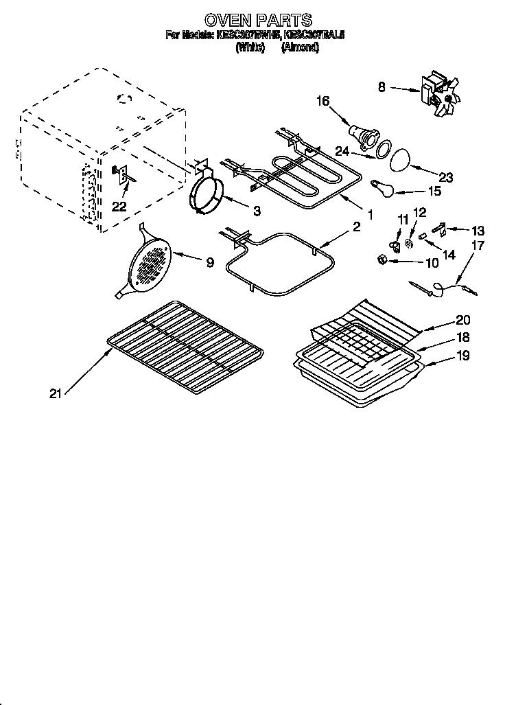 Kitchenaid gas convection oven manual