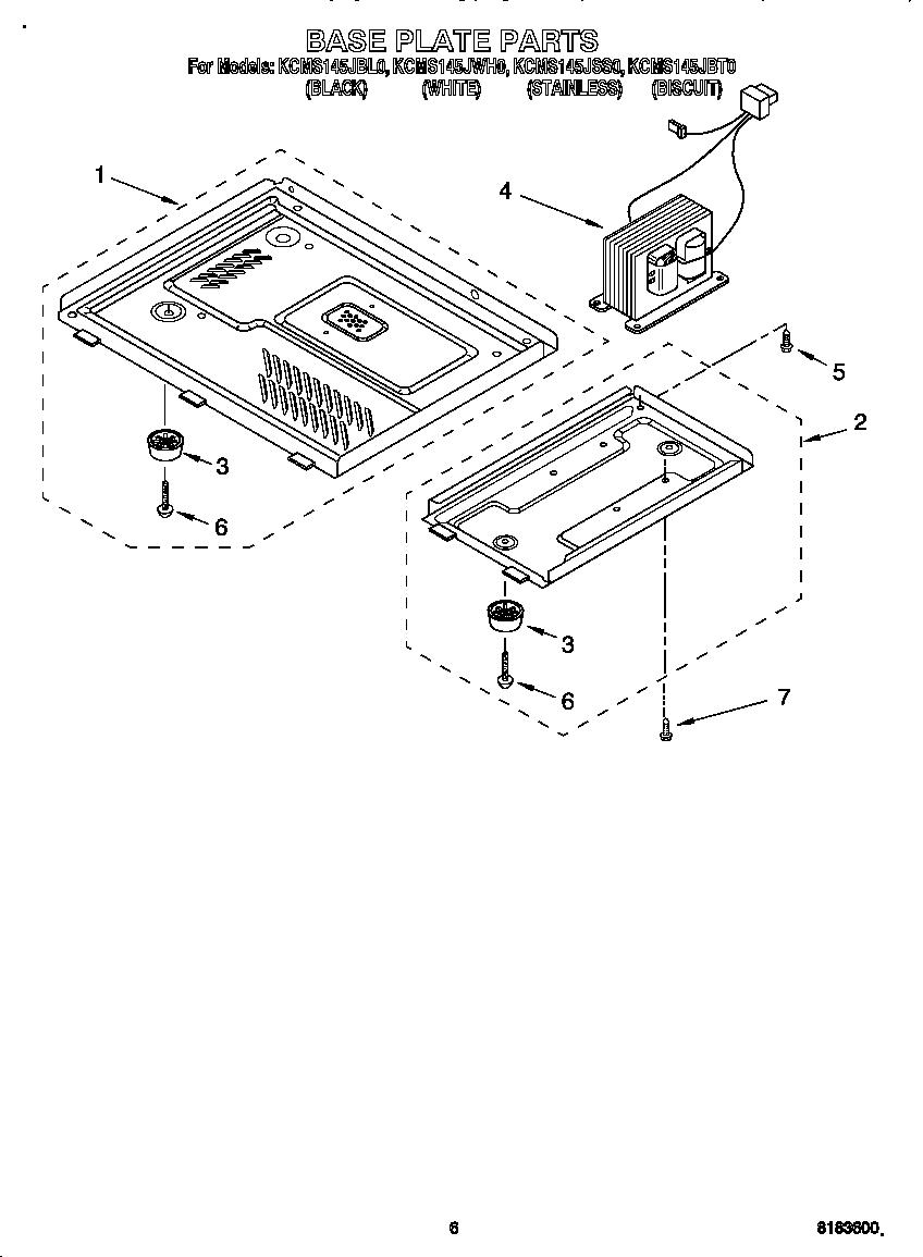 Kitchenaid model KCMS145JBL0 countertop microwave genuine