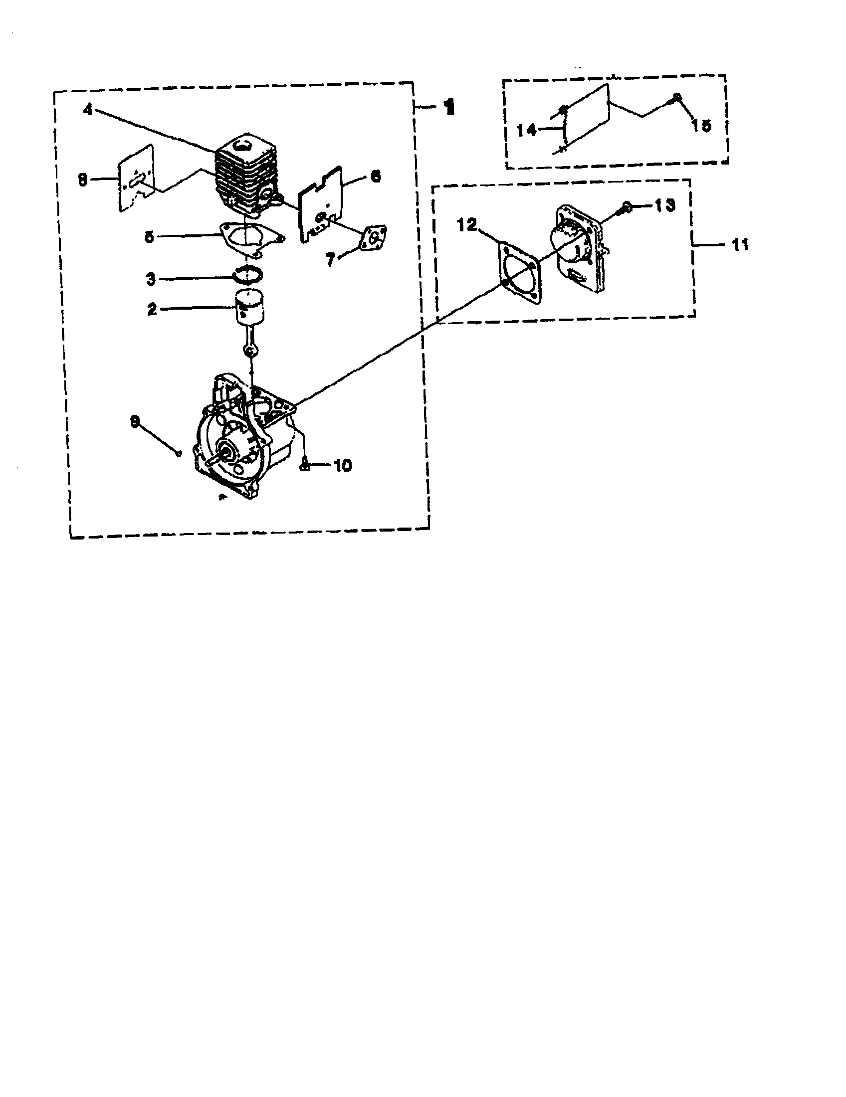 Homelite model UT-20706 line trimmers/weedwackers, gas