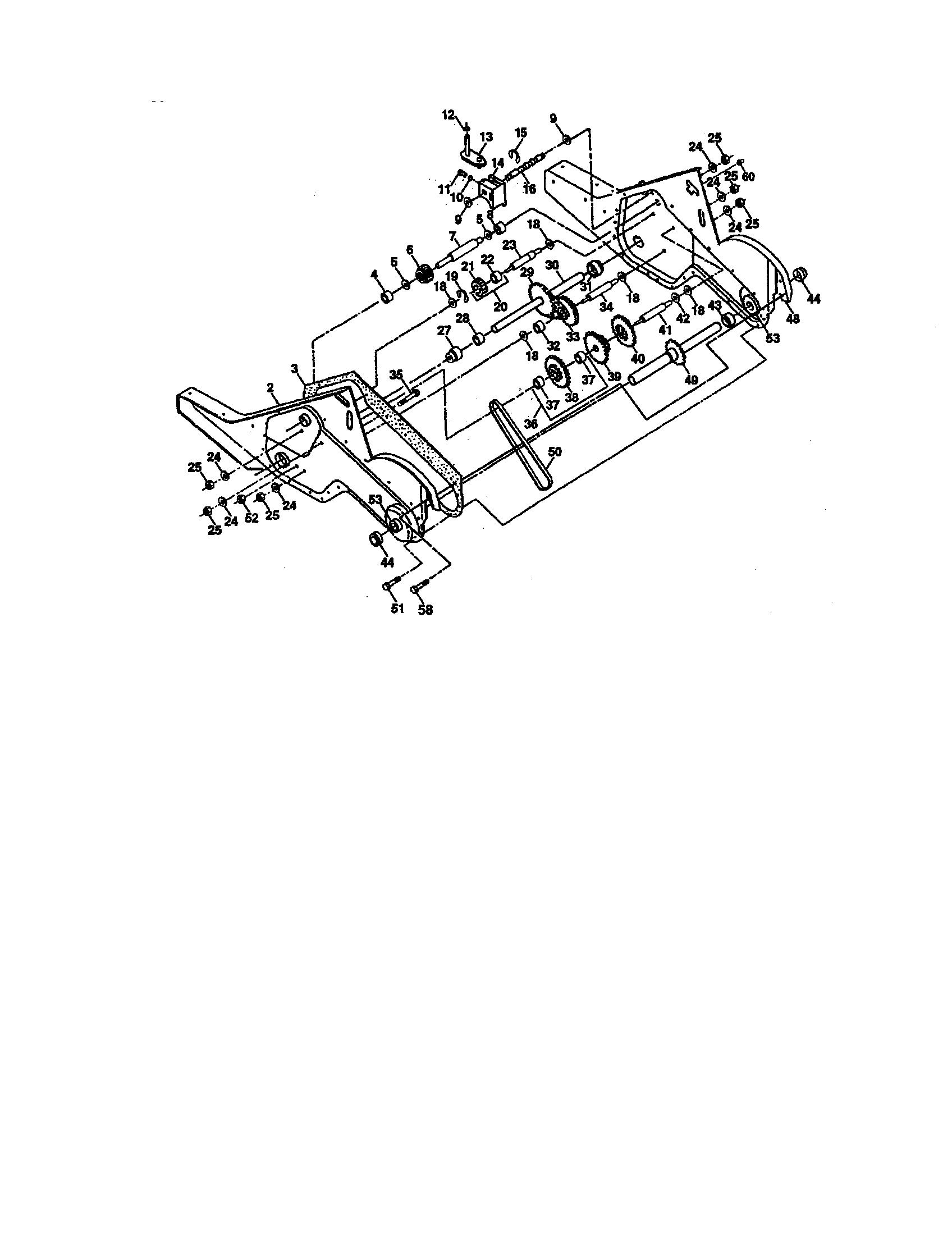 Craftsman model 917293470 rear tine, gas tiller genuine parts