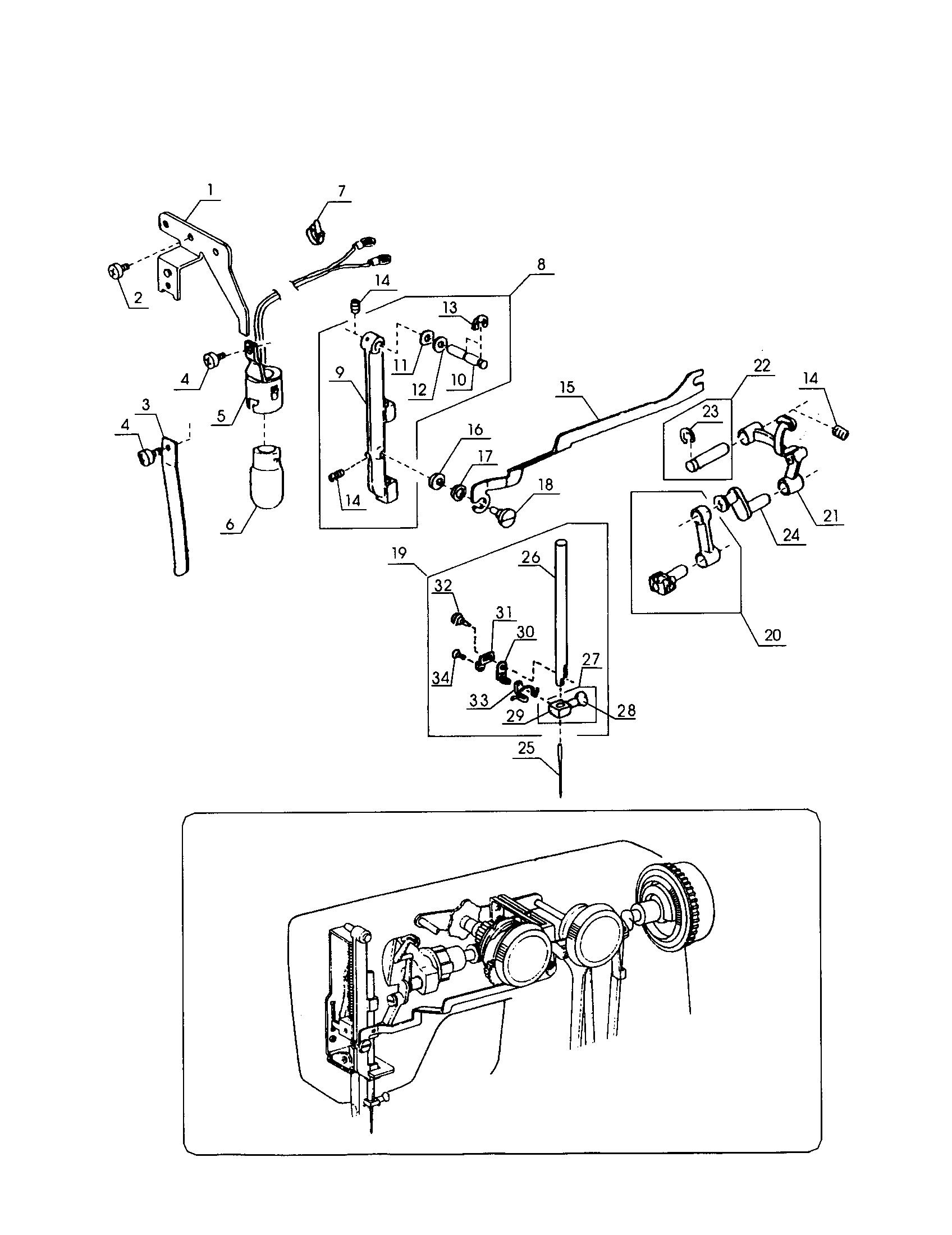 Kenmore model 38515512000 mechanical sewing machines