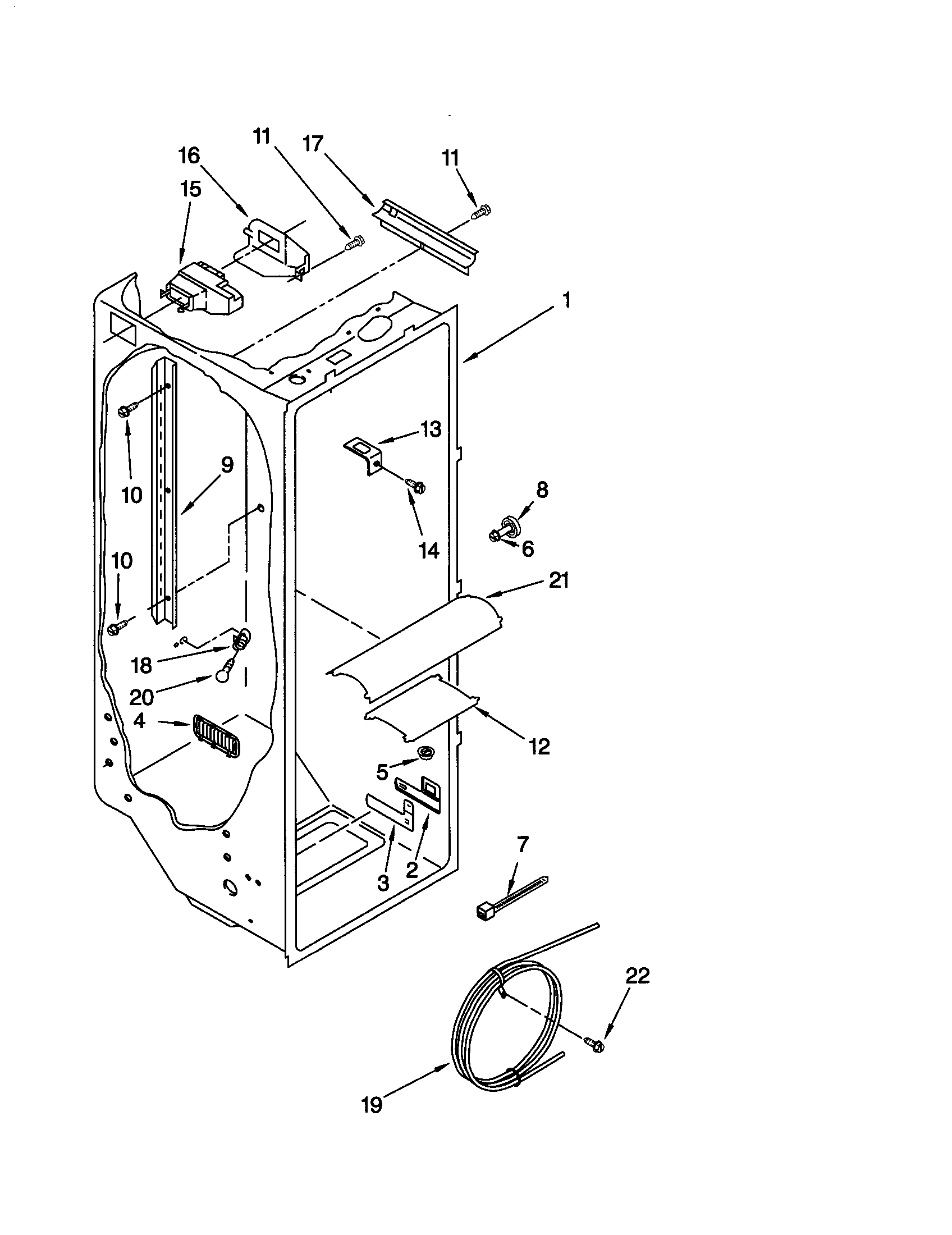 Kenmore-Elite model 10650593000 side-by-side refrigerator