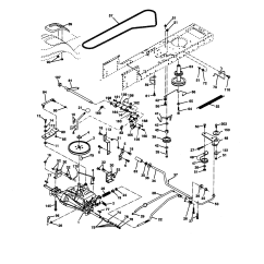 Craftsman Lawn Tractor Parts Diagram 2001 Jeep Wrangler Ignition Wiring Model 917270671 Genuine Ground Drive