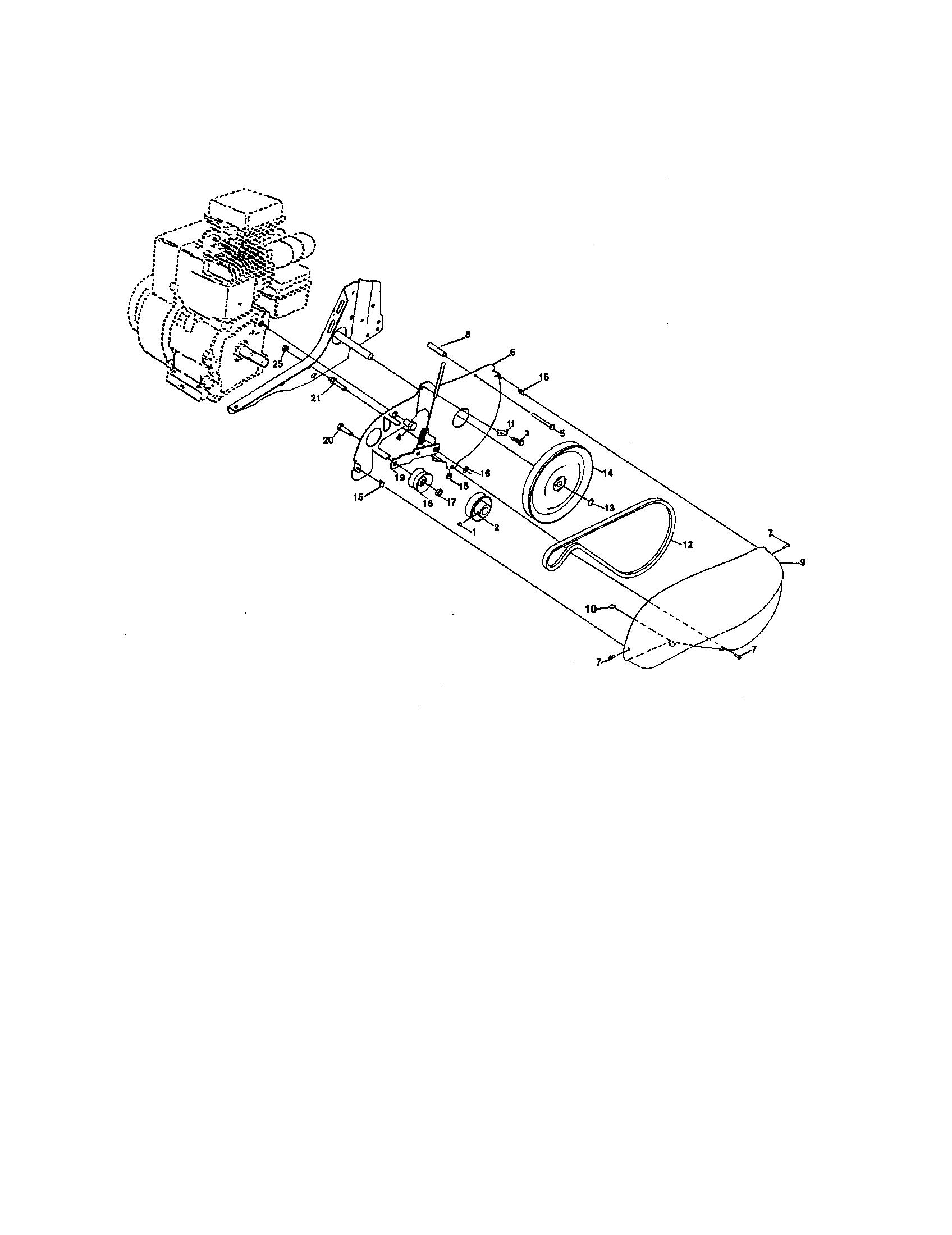 Craftsman model 917292393 front tine, gas tiller genuine parts