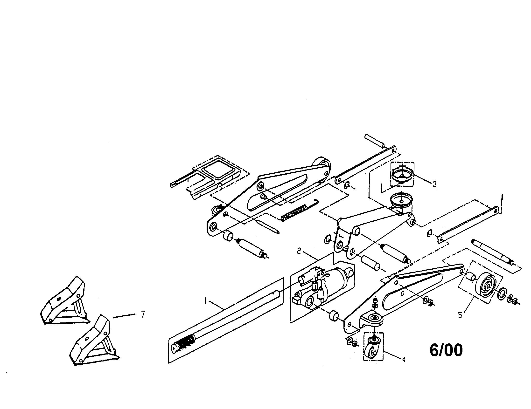 Craftsman model 21412114 jack hydraulic genuine parts