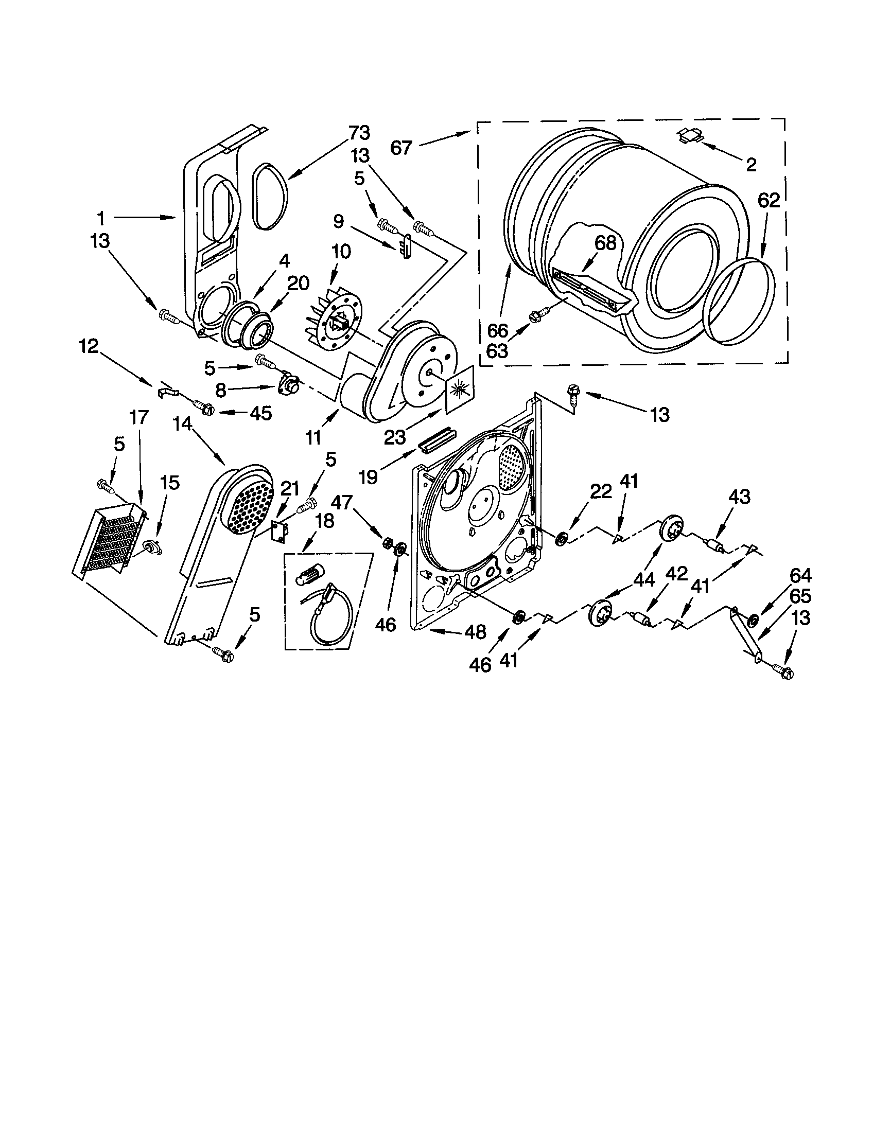 Kenmore 90 Series Dryer Manual