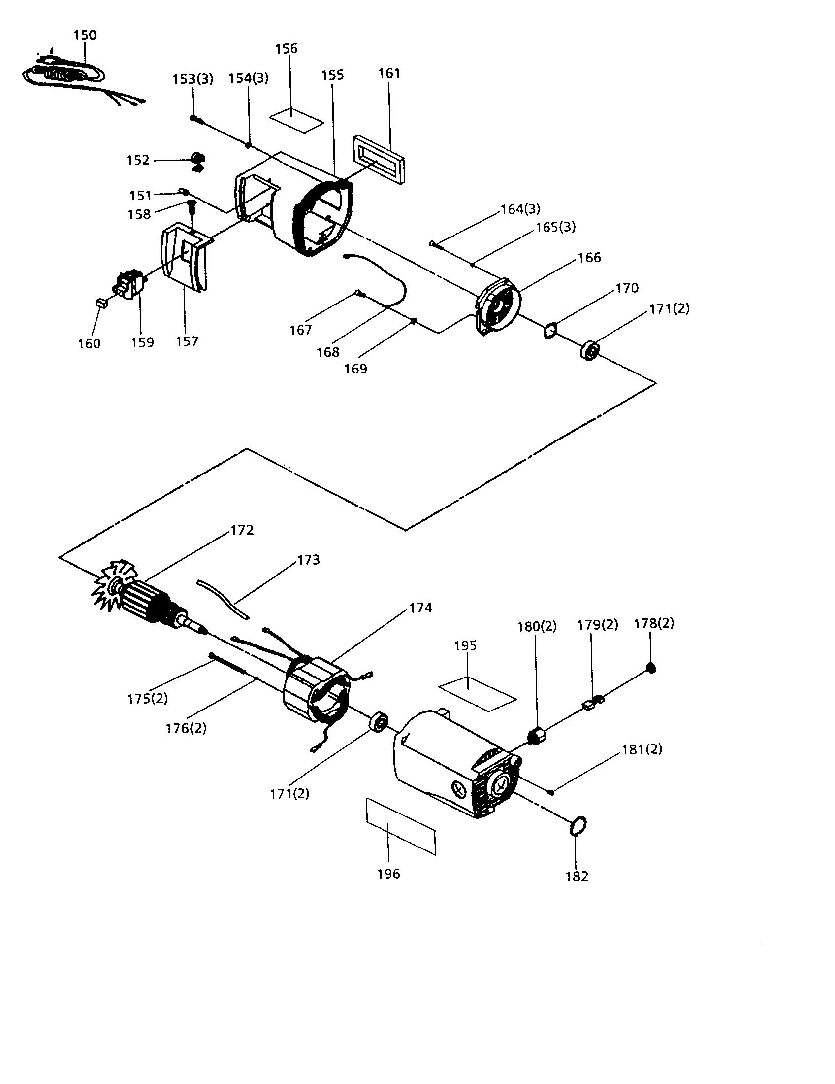 Companion model 31927529 planer genuine parts
