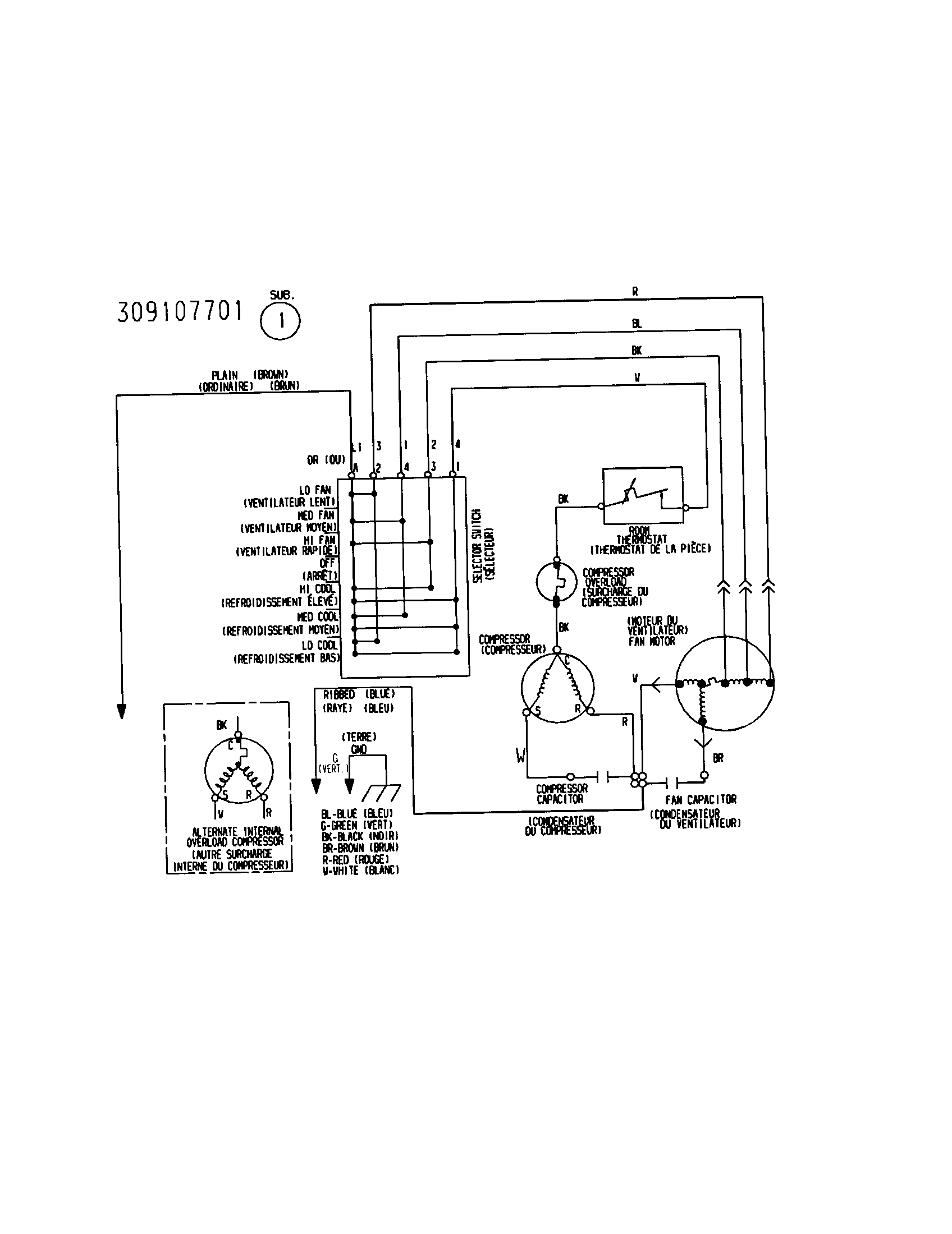 Wiring Diagram Air Conditioner Window Type. Wiring. Best