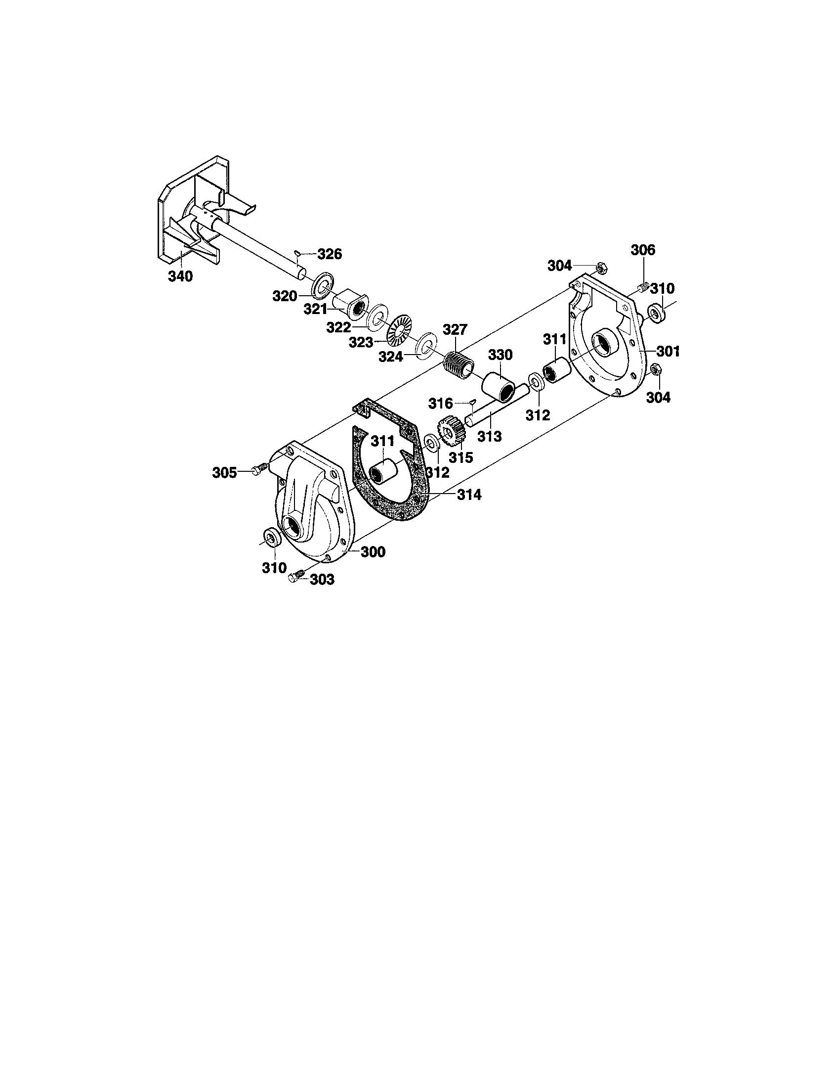 Craftsman model 536886480 snowthrower, gas genuine parts