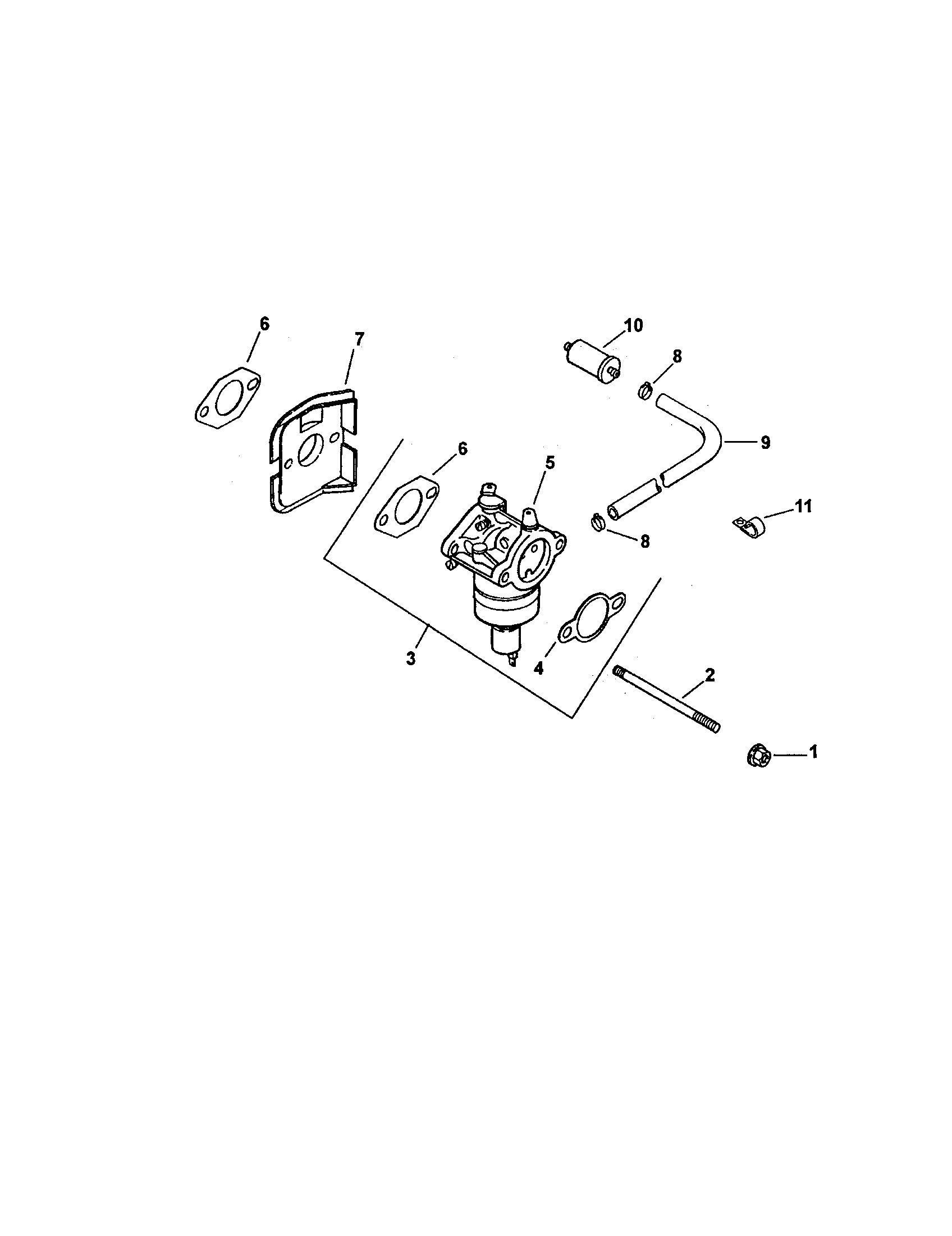 Kohler model CV490S-27507 engine genuine parts