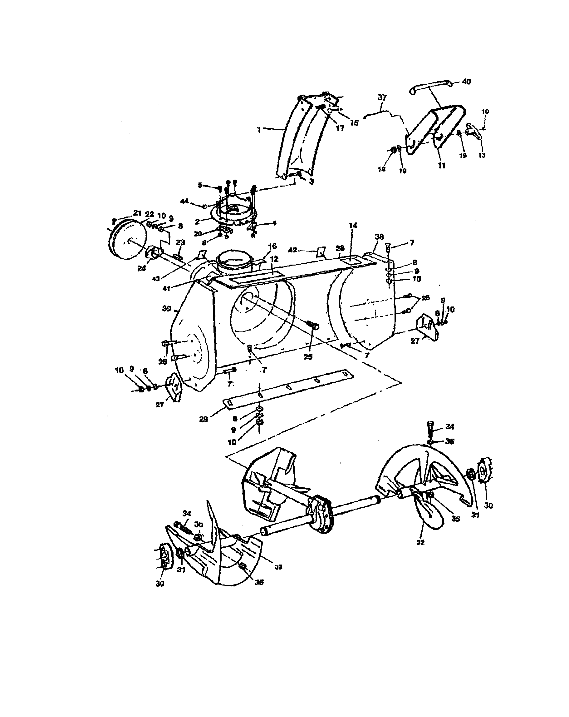 Sears craftsman snowblower repair manual