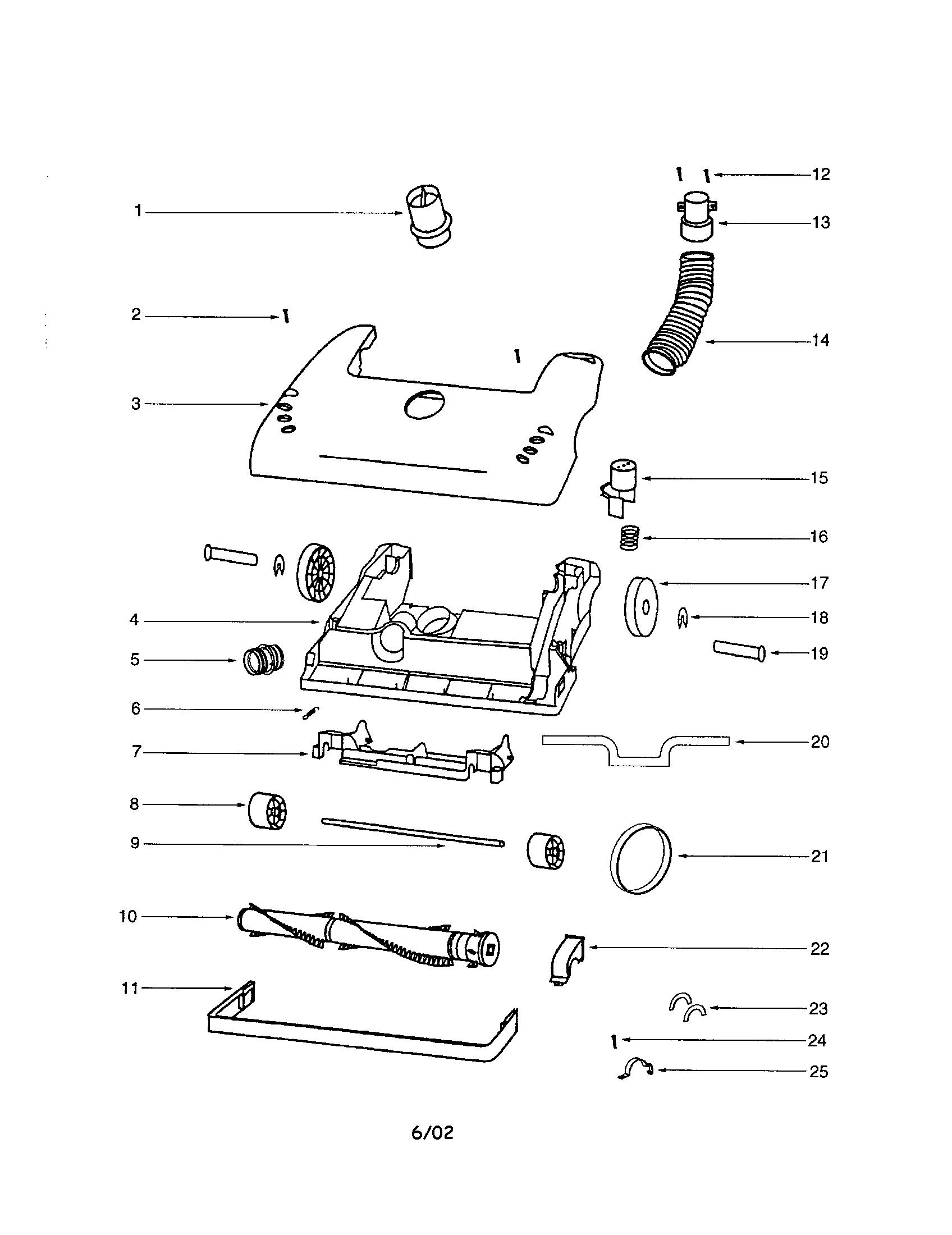 Eureka model 4467AV vacuum, upright genuine parts
