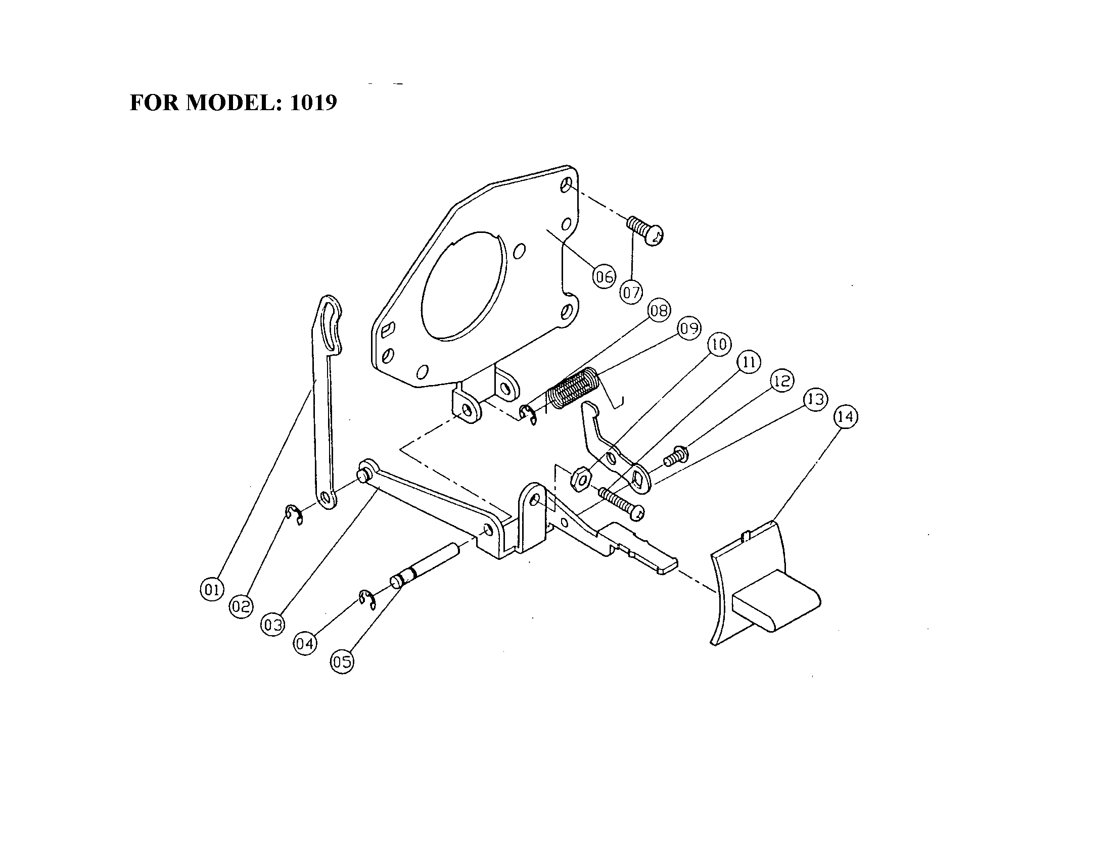 Singer model 1025 mechanical sewing machines genuine parts