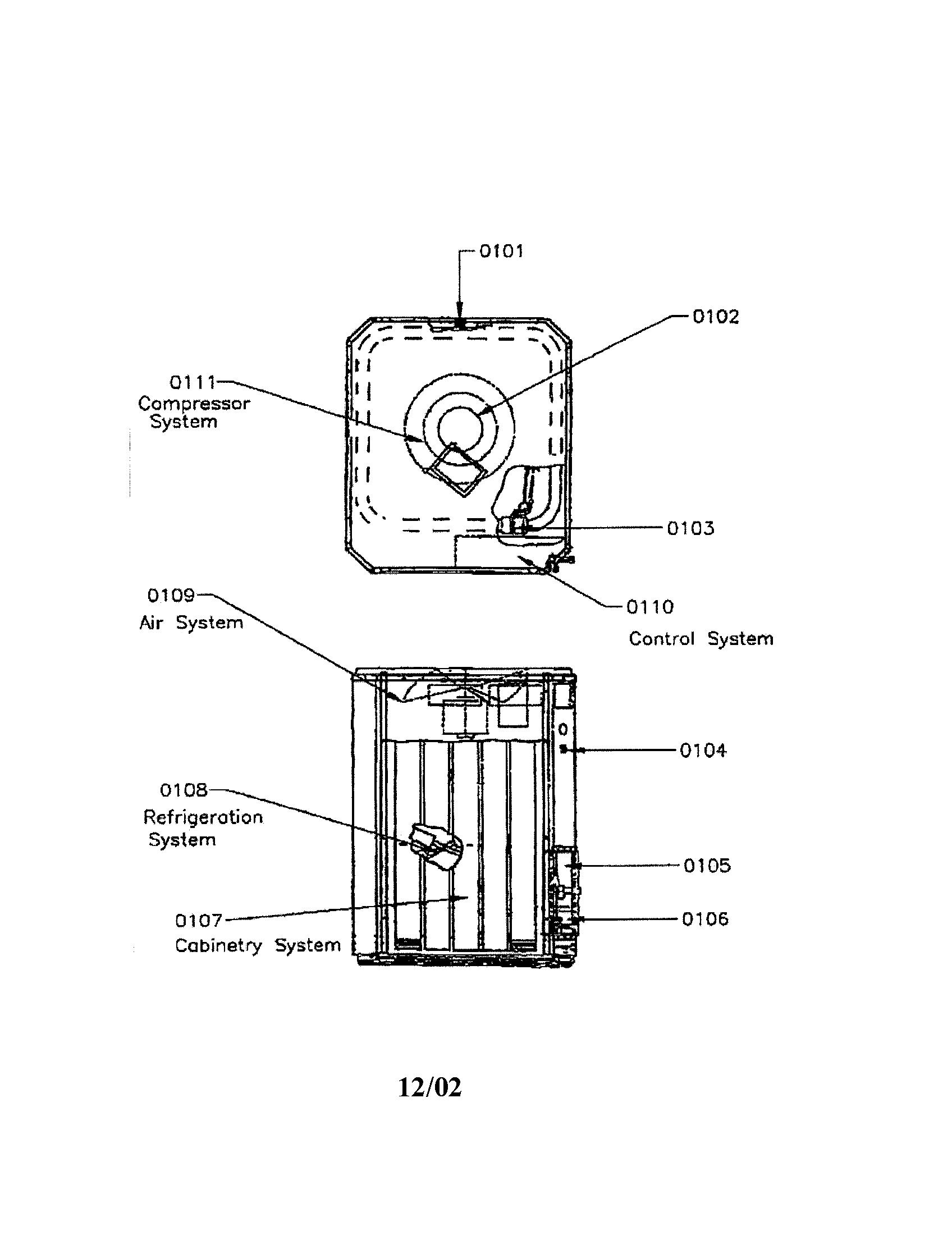 Trane model TWN024AC100A1 air-conditioner/heat pump