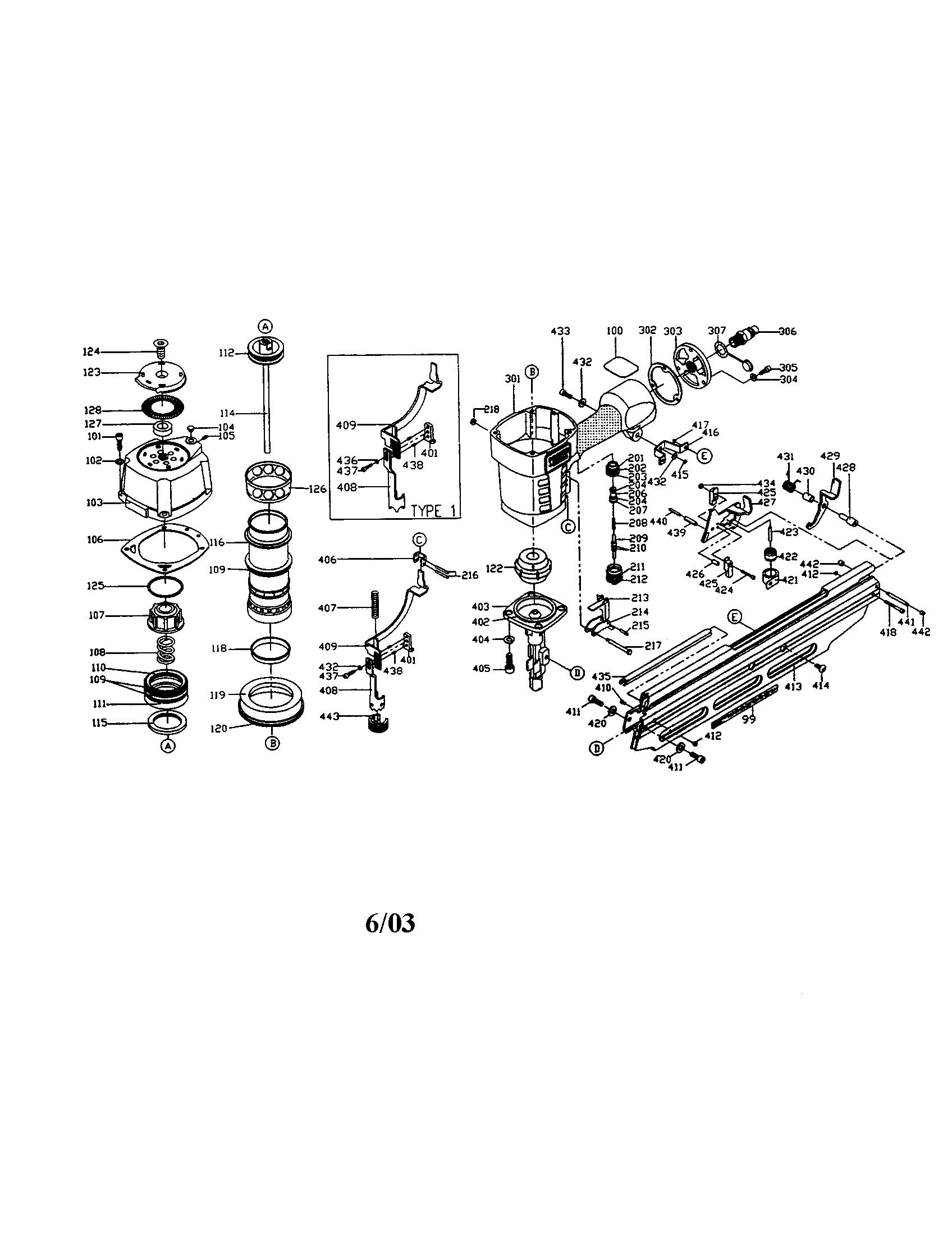 Porter Cable Fr350a Specs