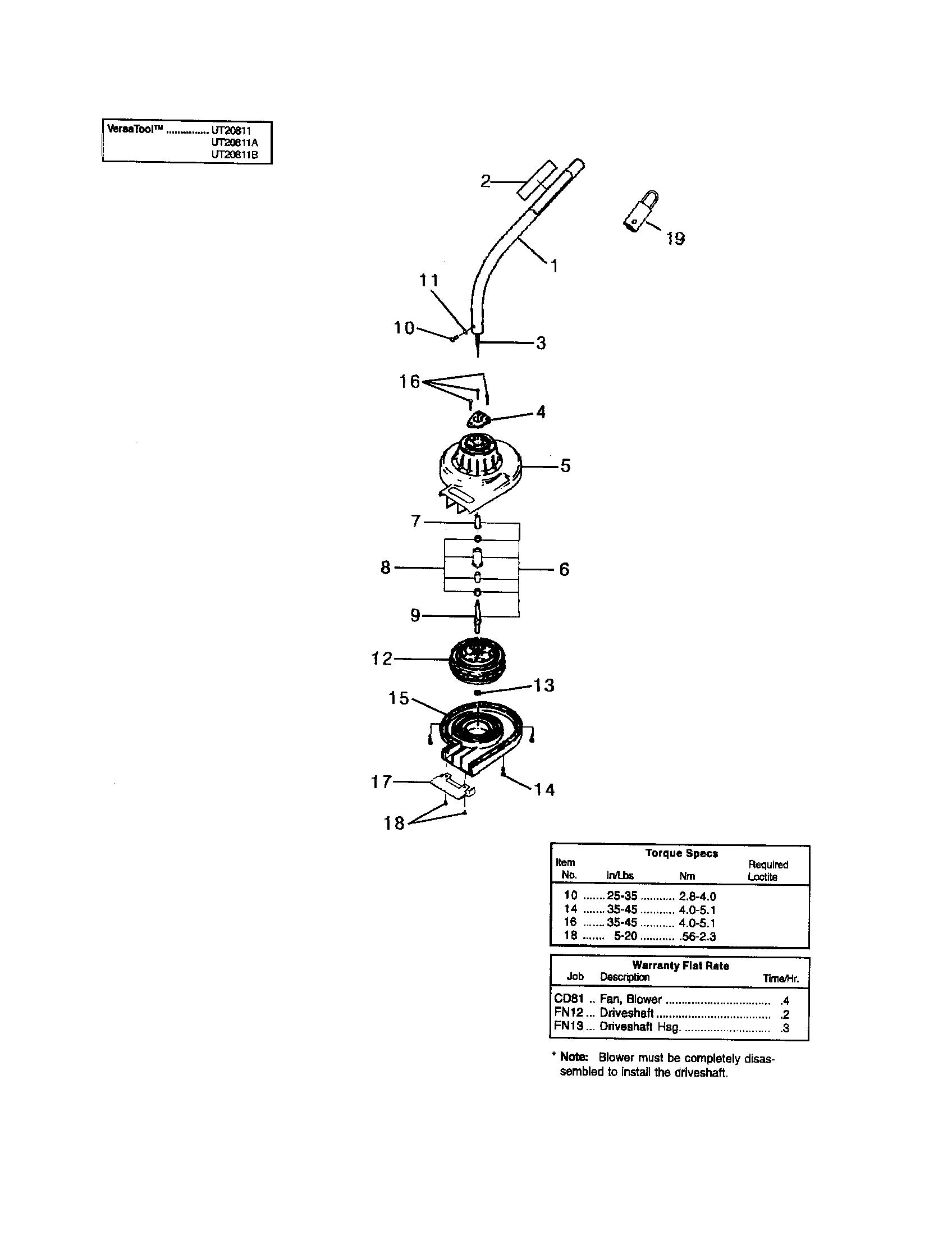 Homelite model UT20811B line trimmers/weedwackers, gas