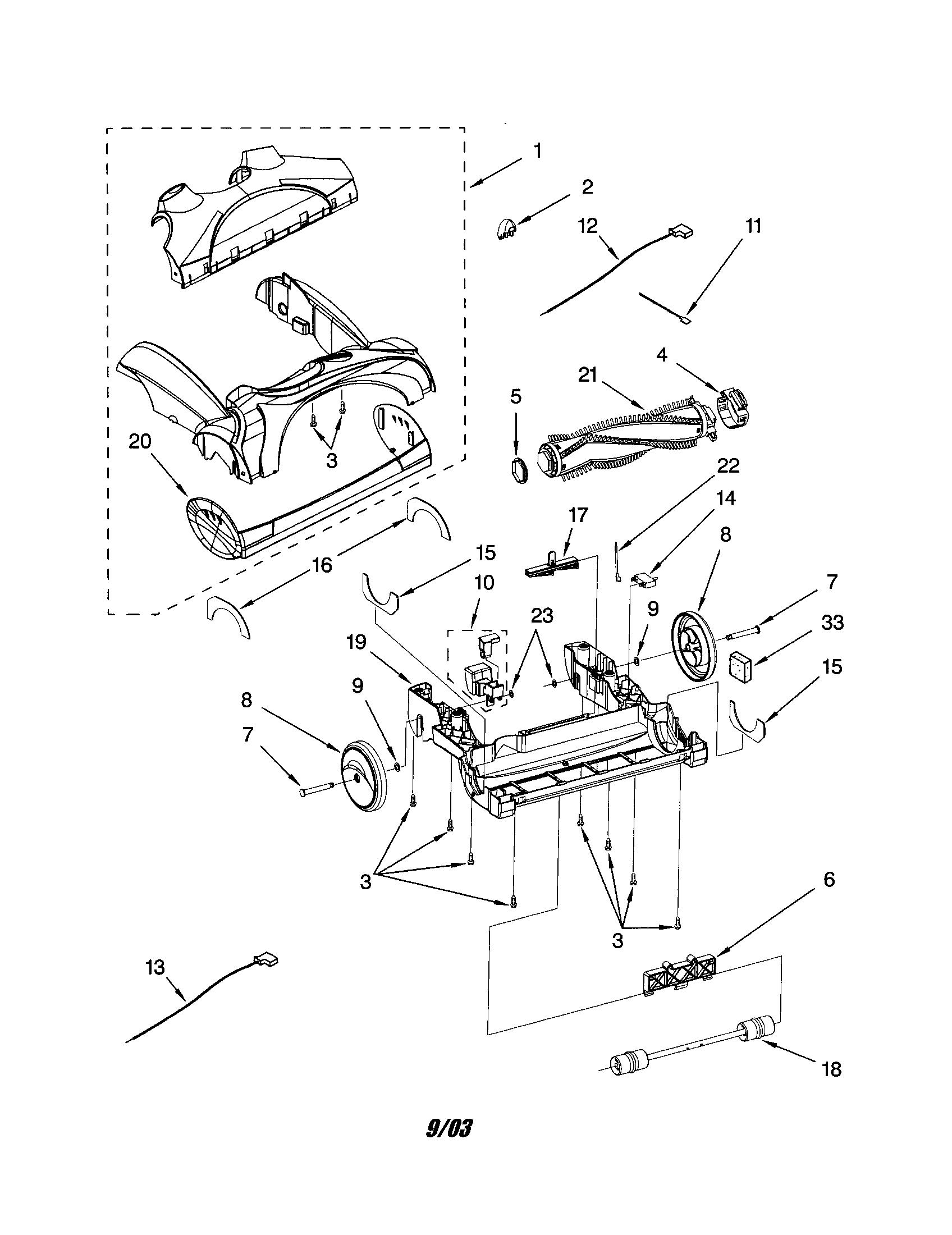 Kenmore model 11632913200 vacuum, upright genuine parts