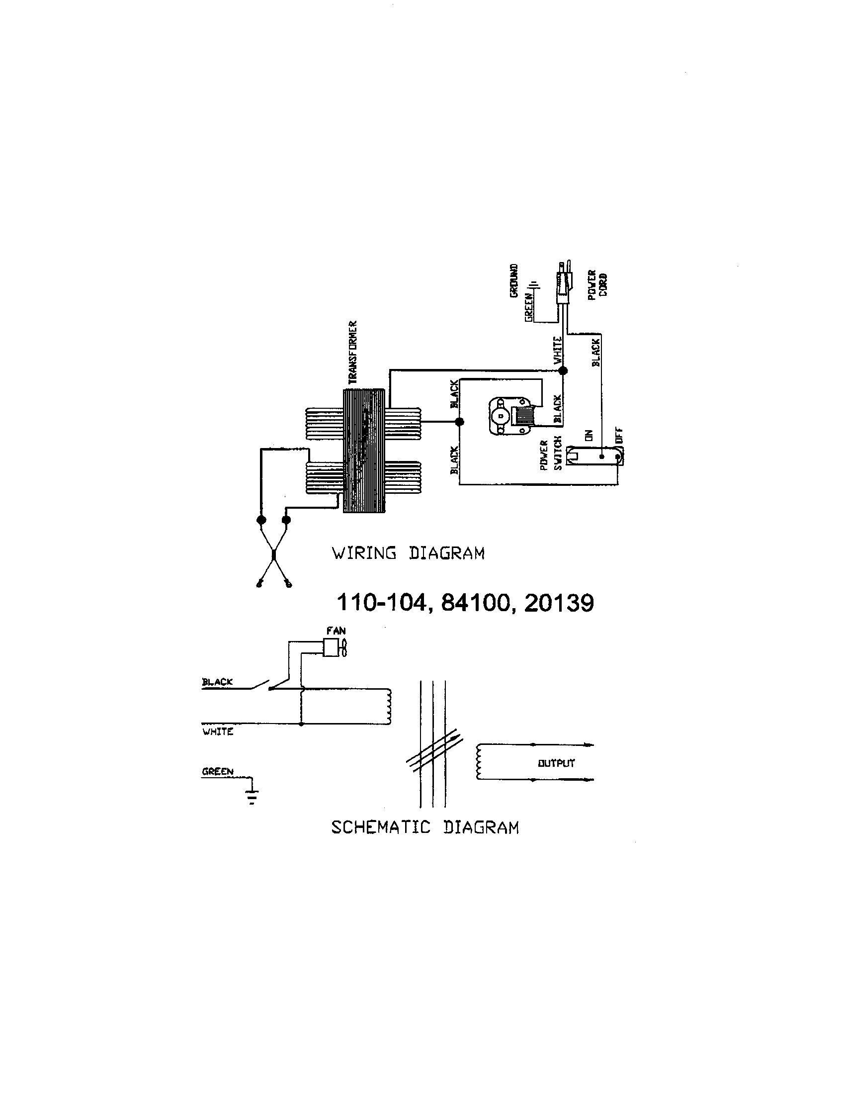 Century model 110-104 welder genuine parts