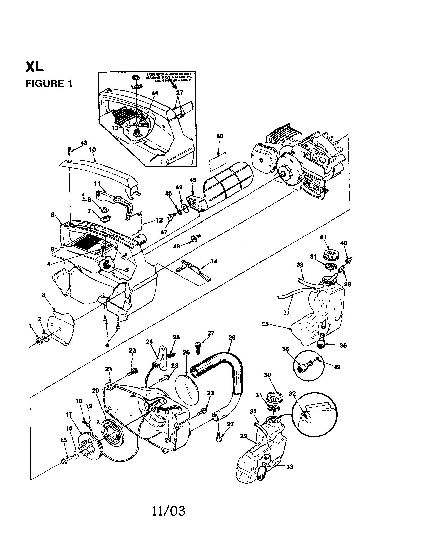 Craftsman Chainsaw Carburetor Fuel Line Diagram, Craftsman