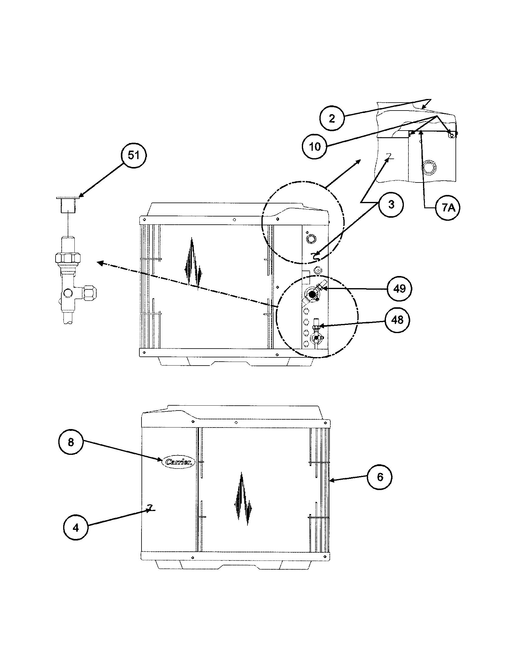 Carrier model 38TXA042 SERIES330 air-conditioner/heat pump