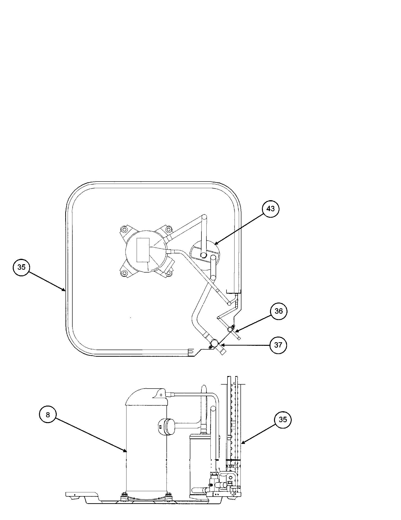 Carrier model 38CKC048 SERIES370 air-conditioner/heat pump
