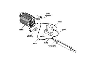 Ryobi model AG451 grinder angle genuine parts