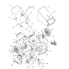 Bolens Lawn Tractor Parts Diagram Heart Nodes Model 11a 544l163 Walk Behind Lawnmower Gas Genuine No Found