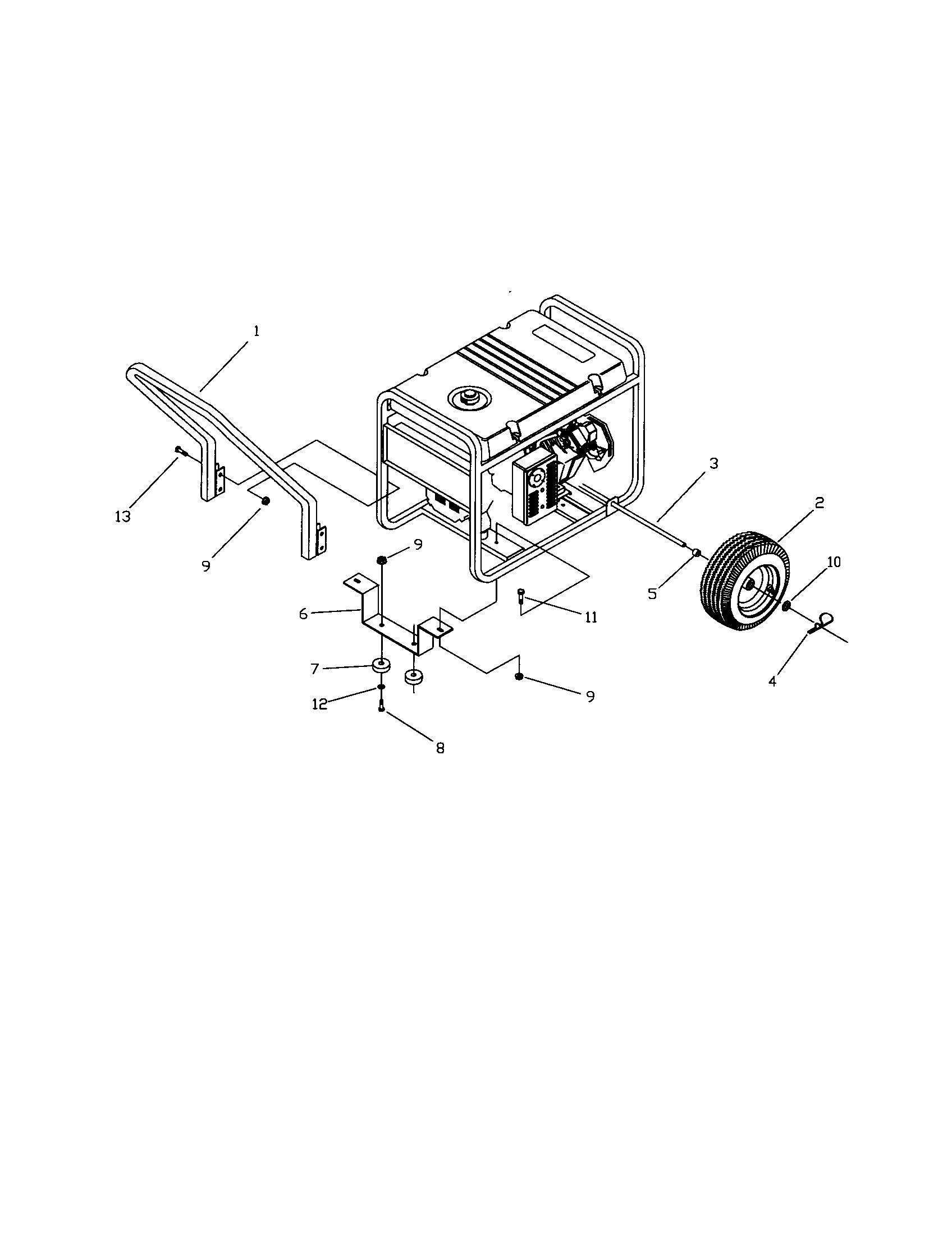 Craftsman Generac Generator Wiring Diagram Generac 5500XL