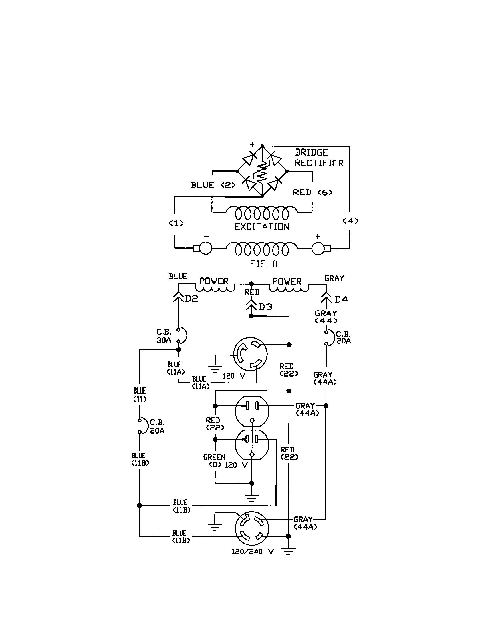 Generac model 1652-0 generator genuine parts