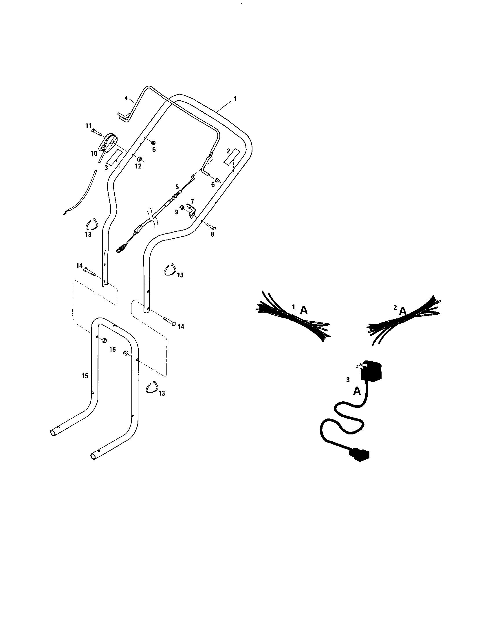 Troybilt model 52063 line trimmers/weedwackers, gas
