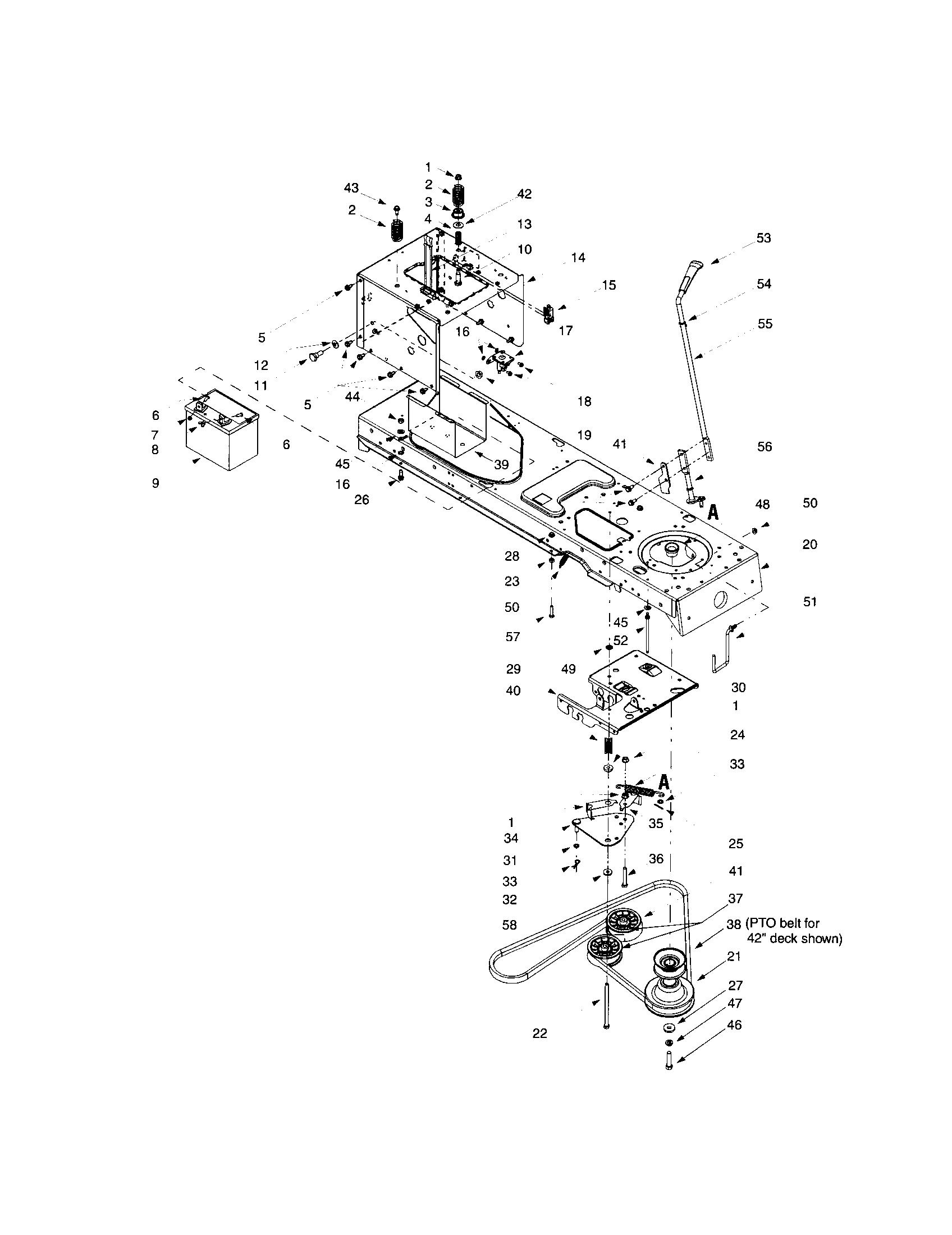 Mtd model 607 lawn, tractor genuine parts
