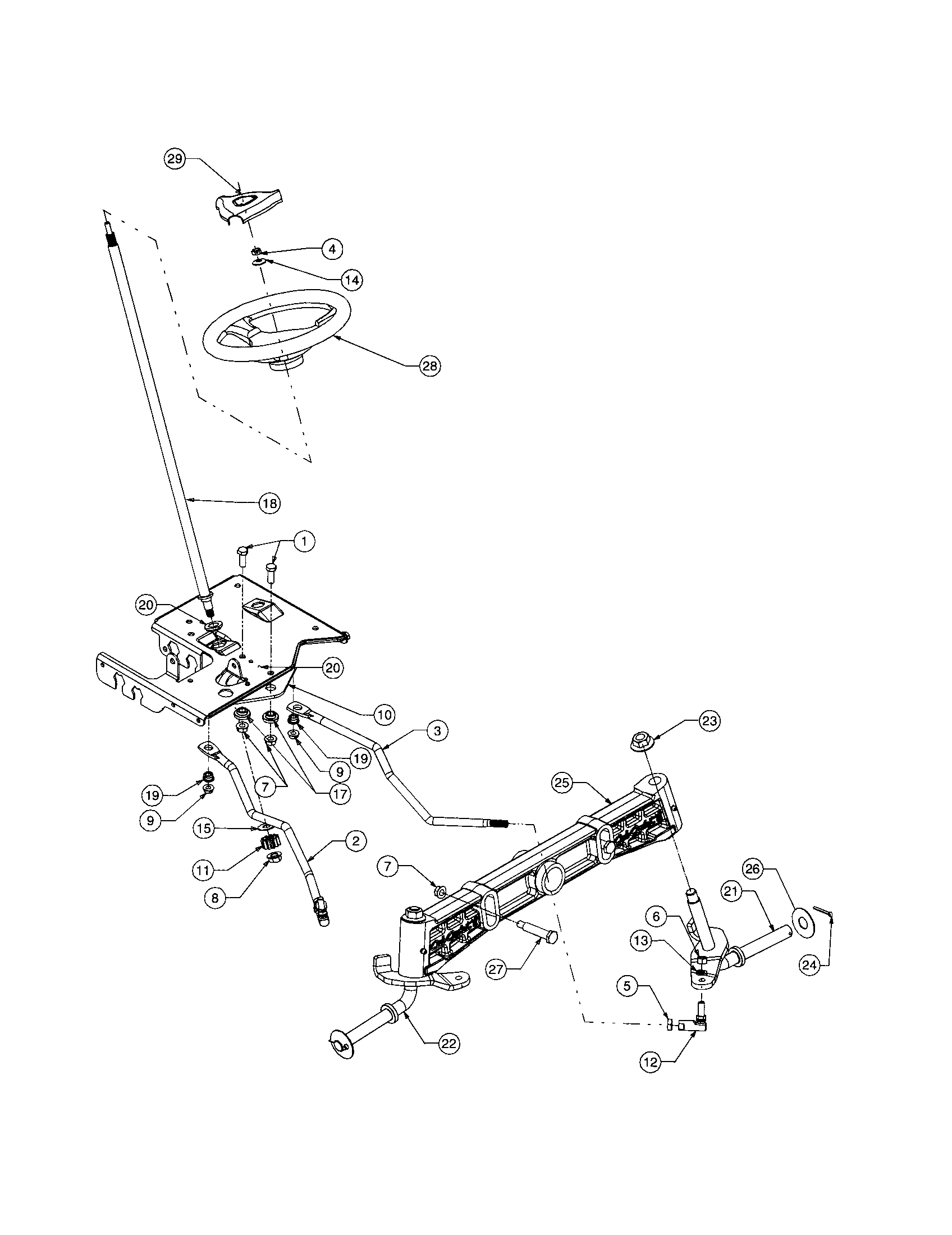 Cub-Cadet model 1515 lawn, tractor genuine parts