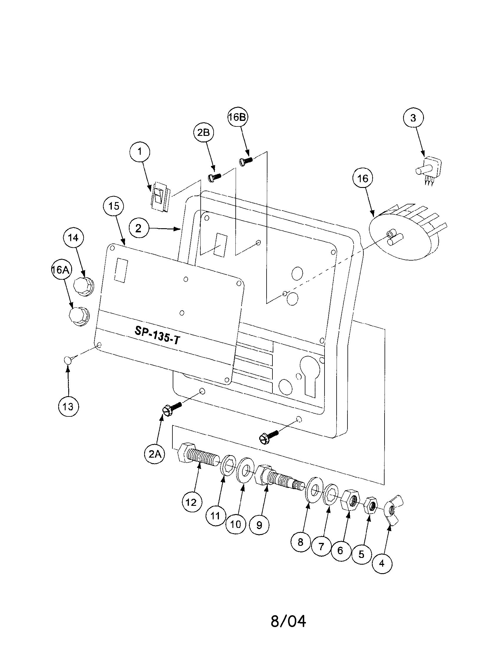 lincoln electric welder parts diagram 2002 subaru wrx ecu wiring model sp135t genuine case