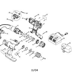 Craftsman Garage Door Motor Wiring Diagram 2003 Jetta Ryobi Model Sa1802 Drill Driver Genuine Parts