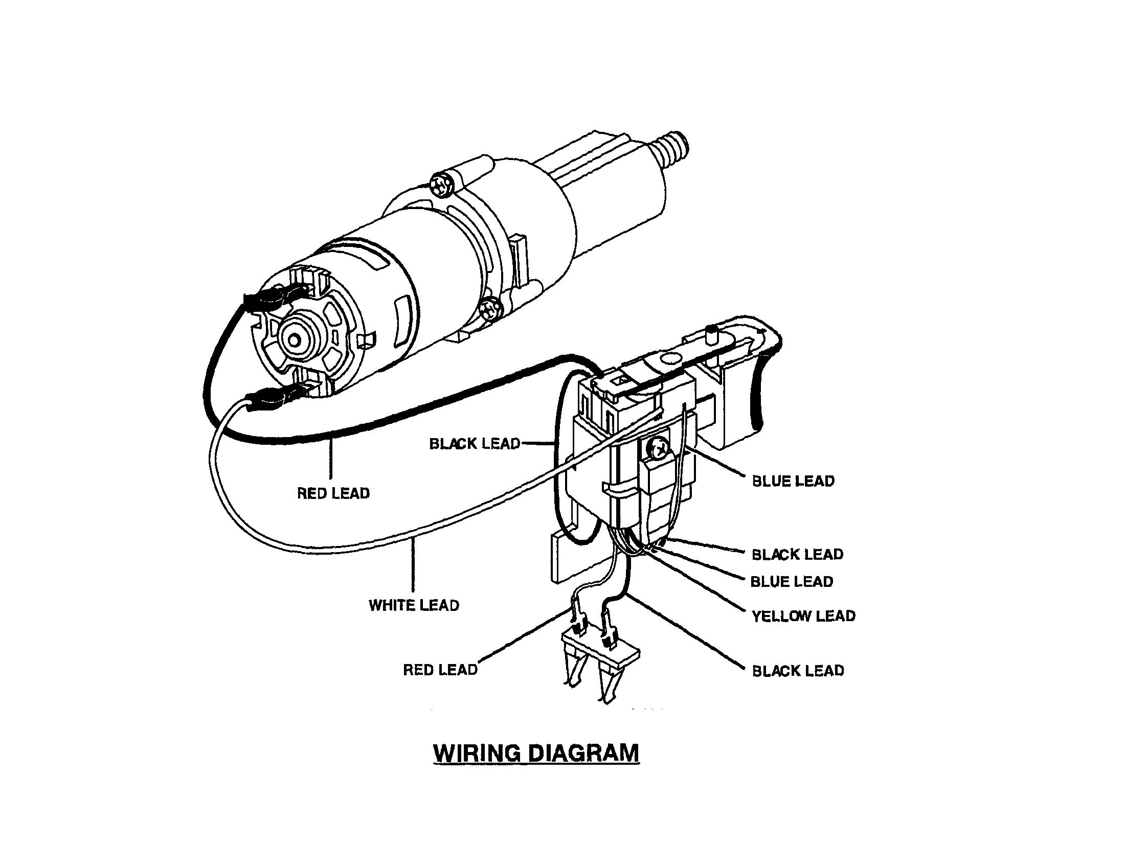 Ryobi model SA1802 drill driver genuine parts