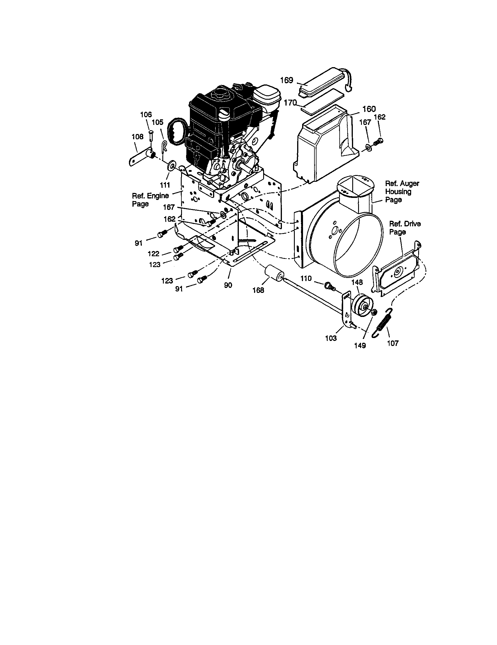 Briggs And Stratton Model 42a707 Wiring Diagram. Engine