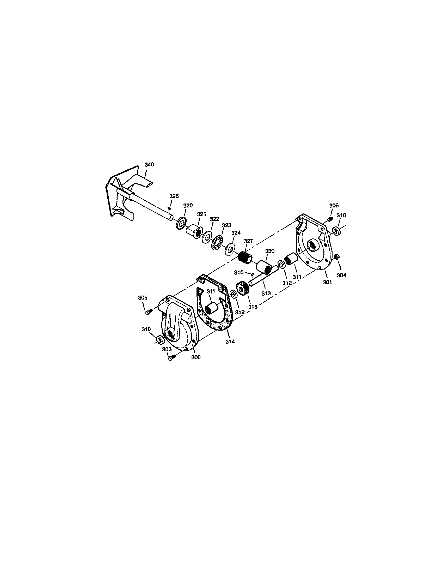 Sears-Canada model 95052311-0 snowthrower, gas genuine parts